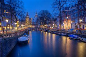 שייט בתעלות אמסטרדם