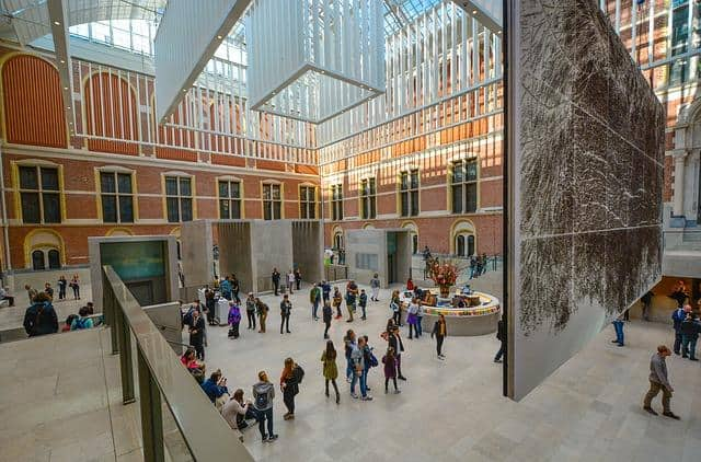 Rijksmuseum באמסטרדם