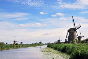 The Kinderdijk World Heritage Site