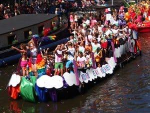 מצעד הגאווה תעלה אמסטרדם