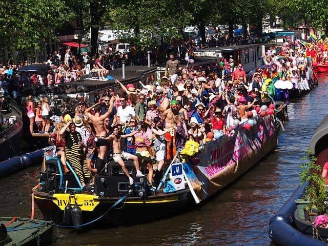 Canal Parade אמסטרדם