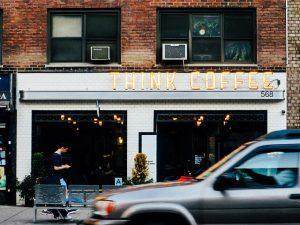 בית קפה באמסטרדם