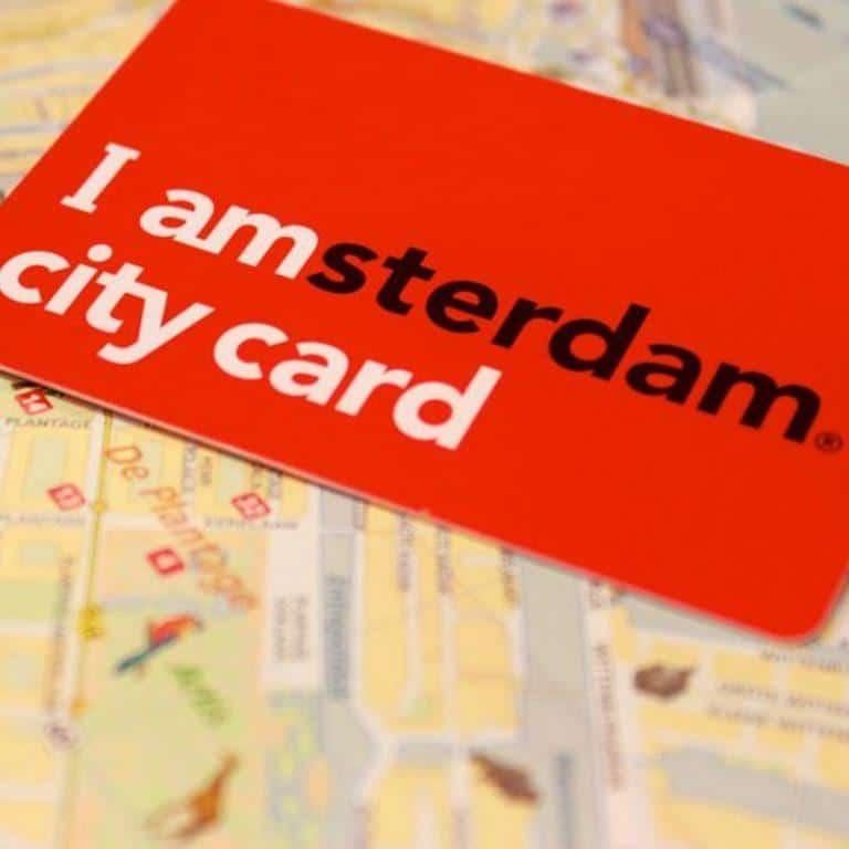 אמסטרדם סיטי קארד I amsterdam City Card