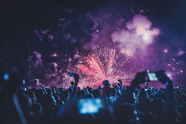 אמסטרדם חגיגות שנה אזרחית חדשה