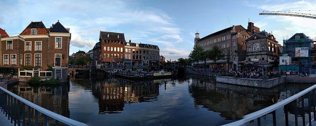 העיירה ליידן בהולנד