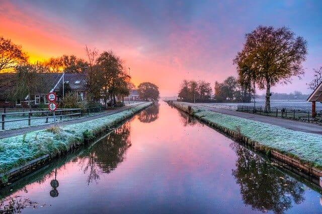 הולנד מזג אוויר