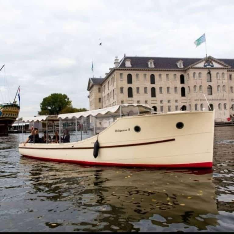 השכרת סירה באמסטרדם